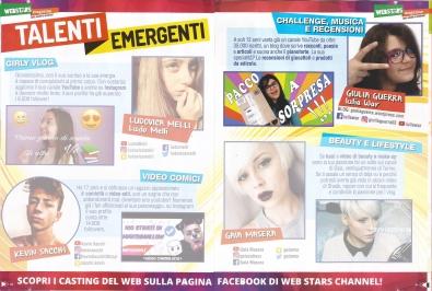 """Giulia Guerra nella rivista """"Webstars Magazine"""""""